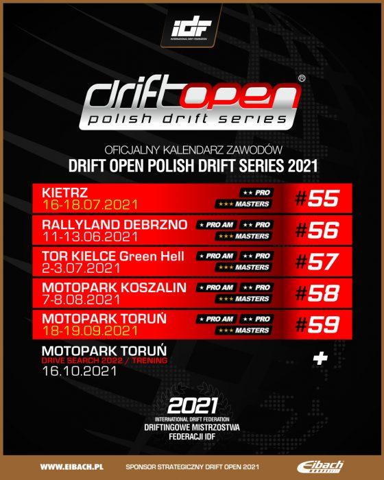 drift open kalendarz 2021b